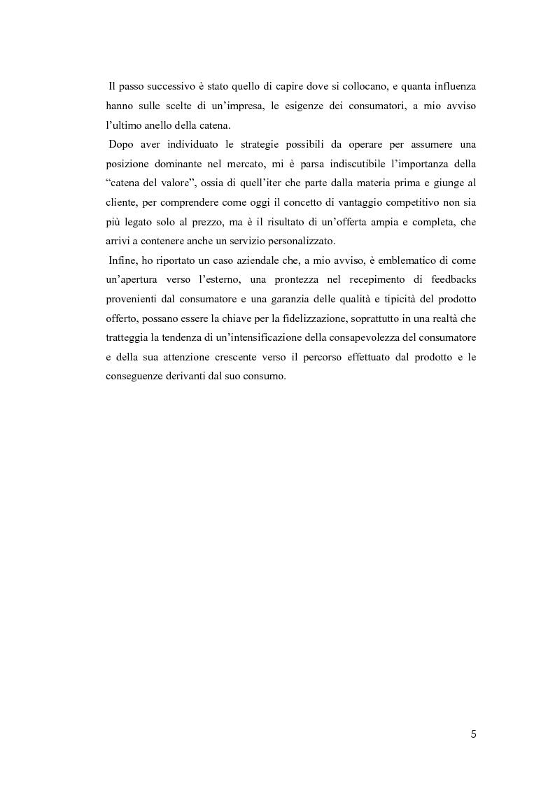 Anteprima della tesi: Il valore della soddisfazione del cliente nella gestione di un'azienda agricola, Pagina 2