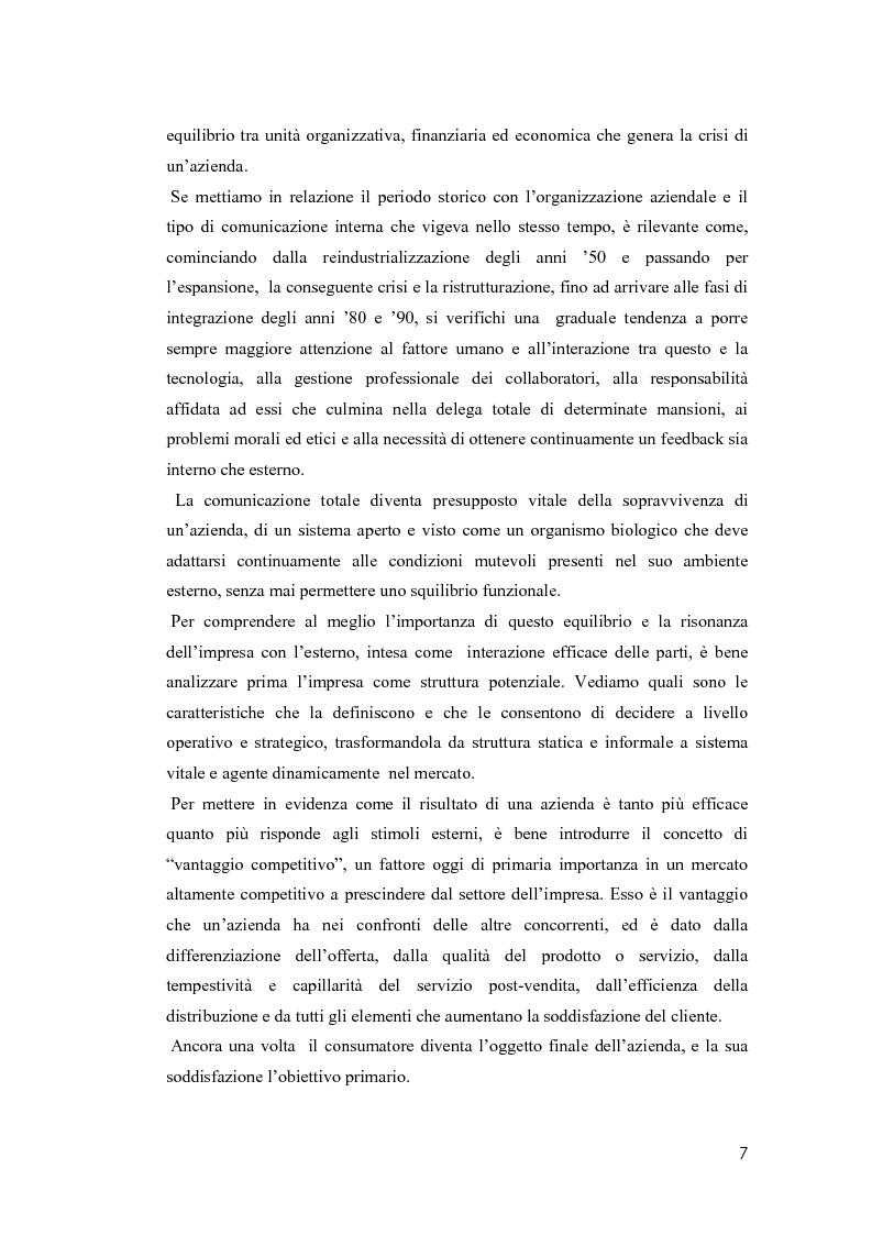 Anteprima della tesi: Il valore della soddisfazione del cliente nella gestione di un'azienda agricola, Pagina 4