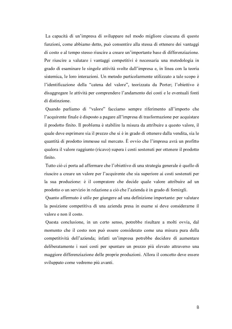 Anteprima della tesi: Il valore della soddisfazione del cliente nella gestione di un'azienda agricola, Pagina 5