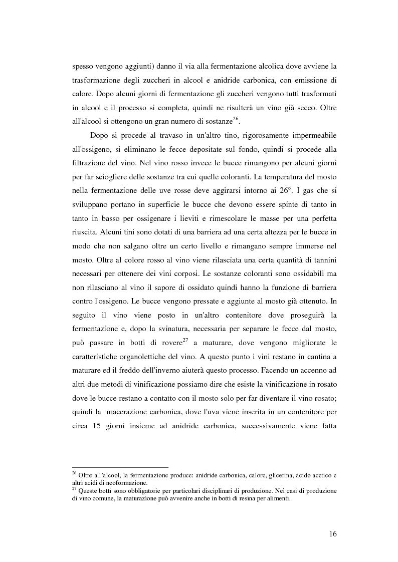 Anteprima della tesi: Strategie e politiche distributive e di branding tra terroir e imprese nella filiera vitivinicola: il caso Castello Banfi in Toscana, Pagina 10