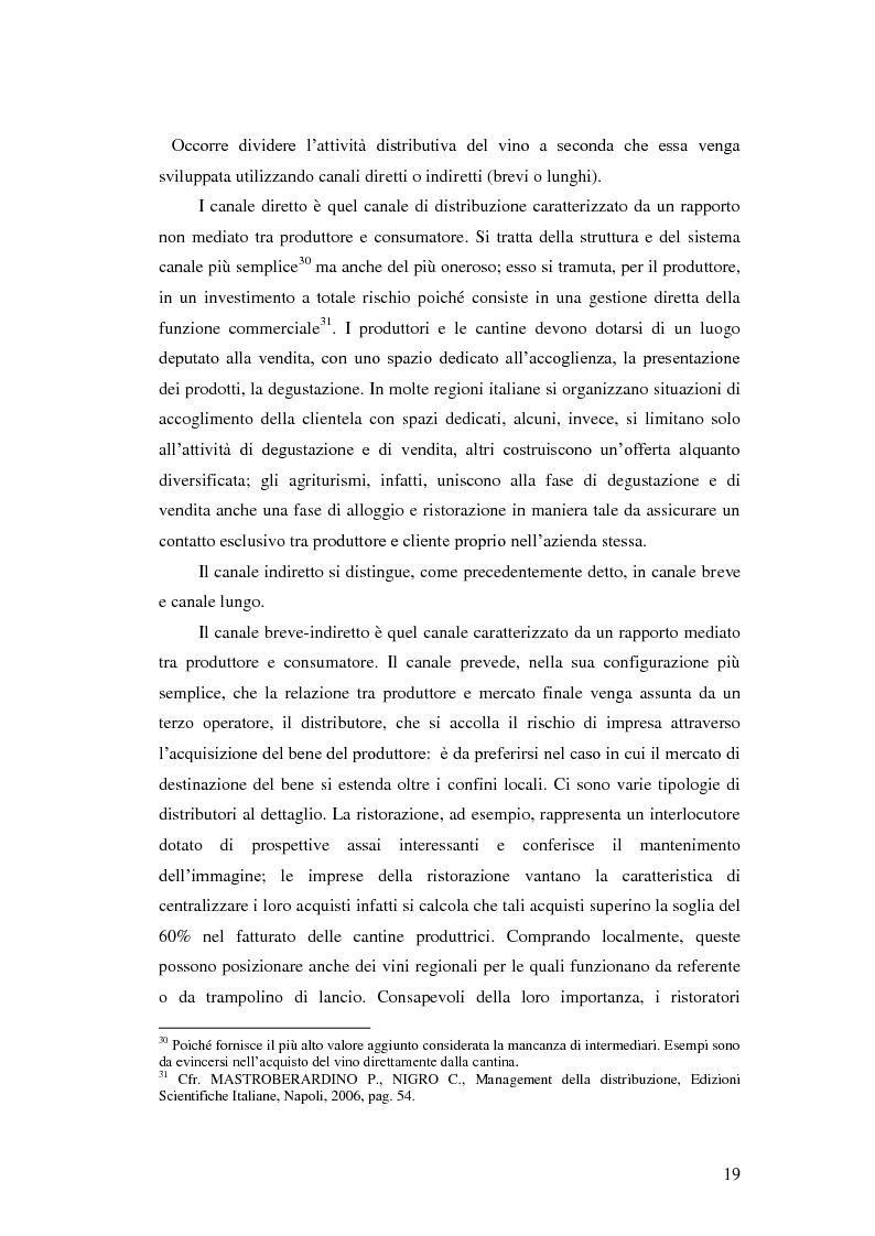 Anteprima della tesi: Strategie e politiche distributive e di branding tra terroir e imprese nella filiera vitivinicola: il caso Castello Banfi in Toscana, Pagina 13