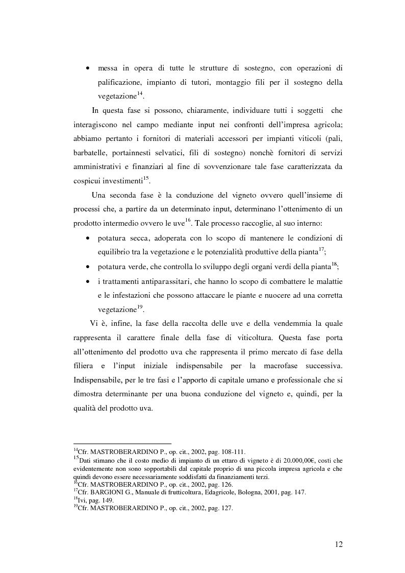 Anteprima della tesi: Strategie e politiche distributive e di branding tra terroir e imprese nella filiera vitivinicola: il caso Castello Banfi in Toscana, Pagina 6
