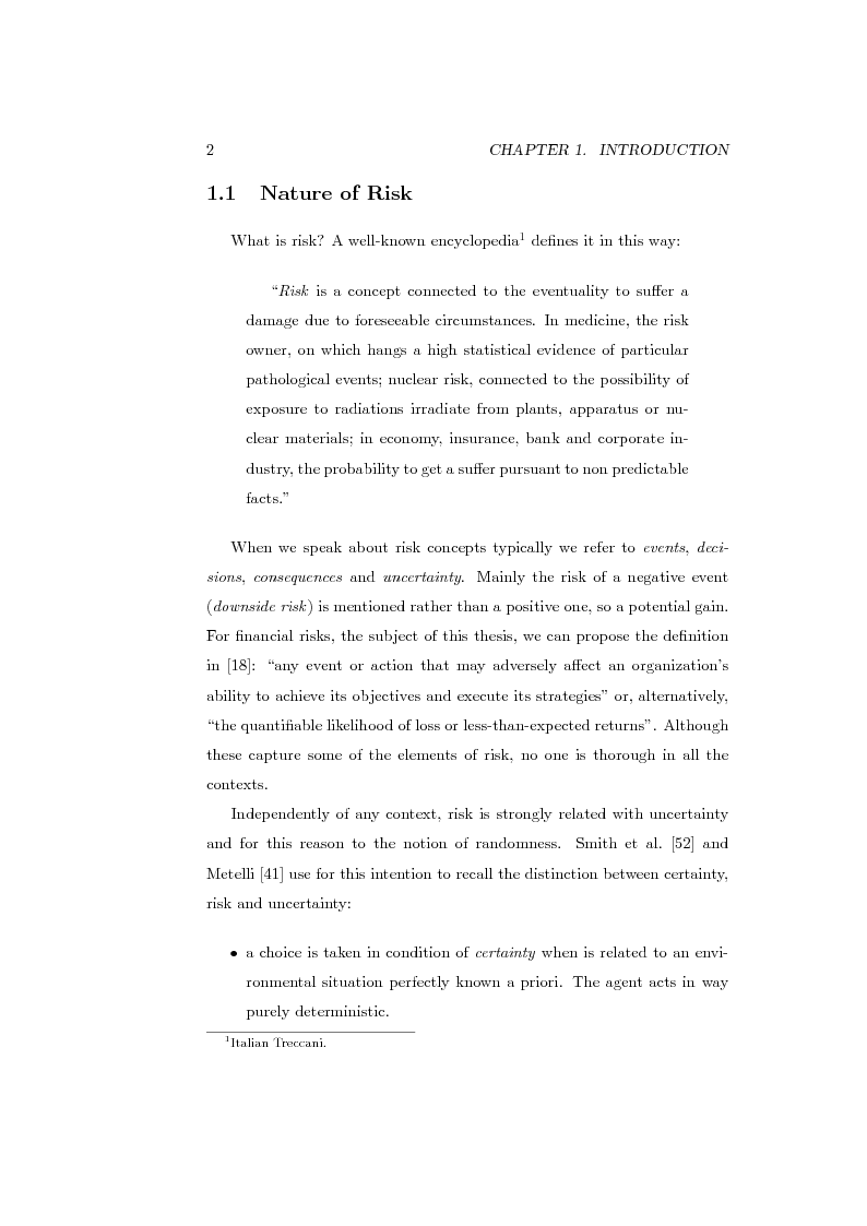 Anteprima della tesi: Measures of Contribution for Portfolio Risk, Pagina 2
