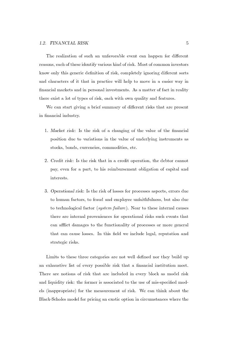 Anteprima della tesi: Measures of Contribution for Portfolio Risk, Pagina 5