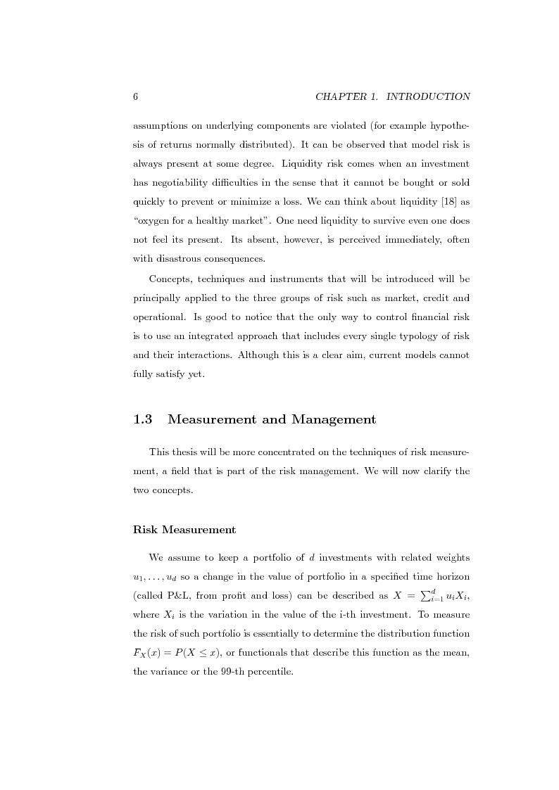 Anteprima della tesi: Measures of Contribution for Portfolio Risk, Pagina 6