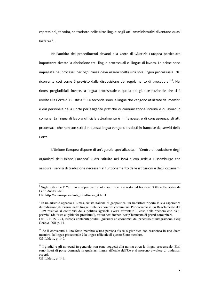 Anteprima della tesi: Traduzione commentata di alcuni passi tratti dagli studi compiuti su un Codice Civile Europeo, Pagina 3