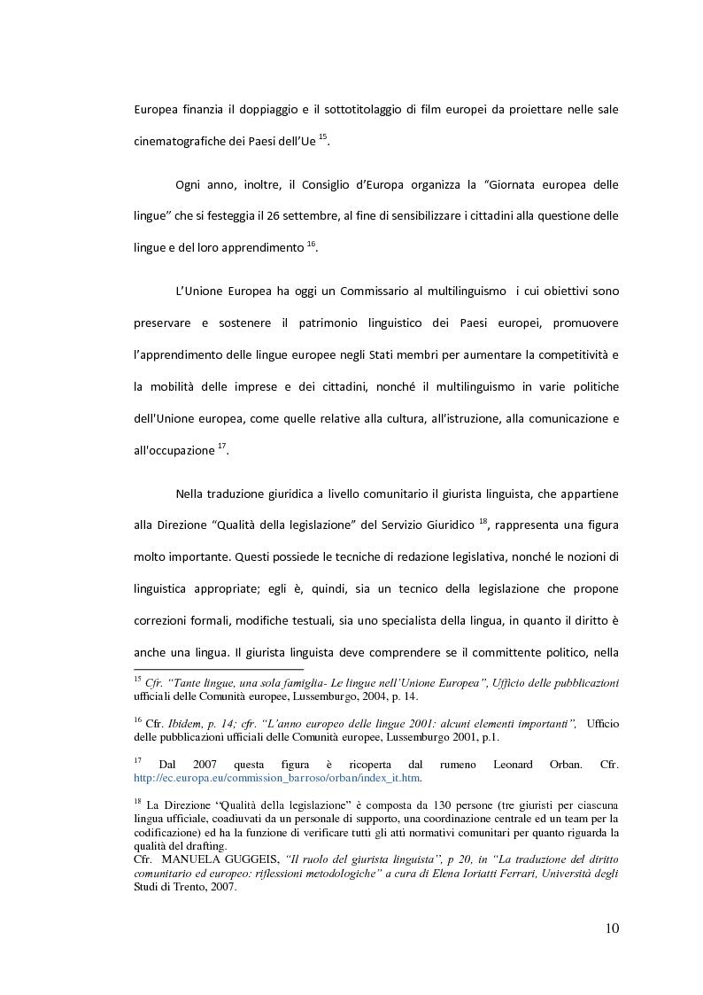 Anteprima della tesi: Traduzione commentata di alcuni passi tratti dagli studi compiuti su un Codice Civile Europeo, Pagina 5