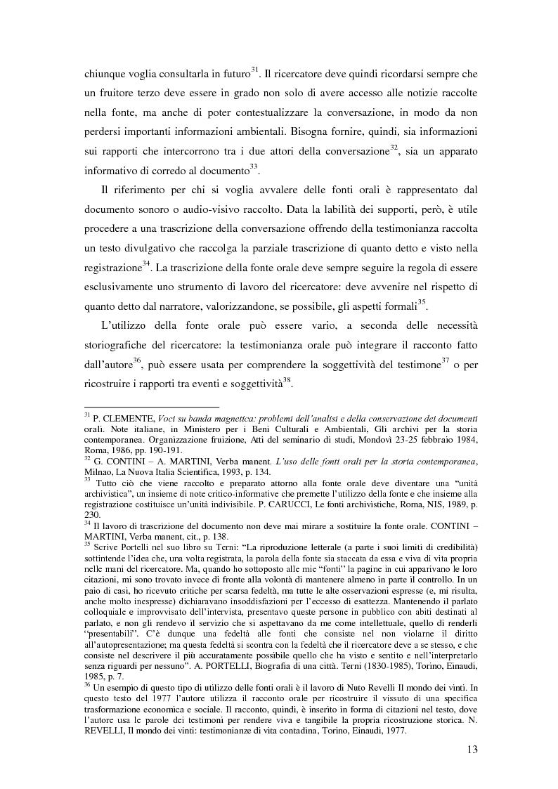 Anteprima della tesi: Dal PCI al PDS. Il caso pavese, Pagina 11