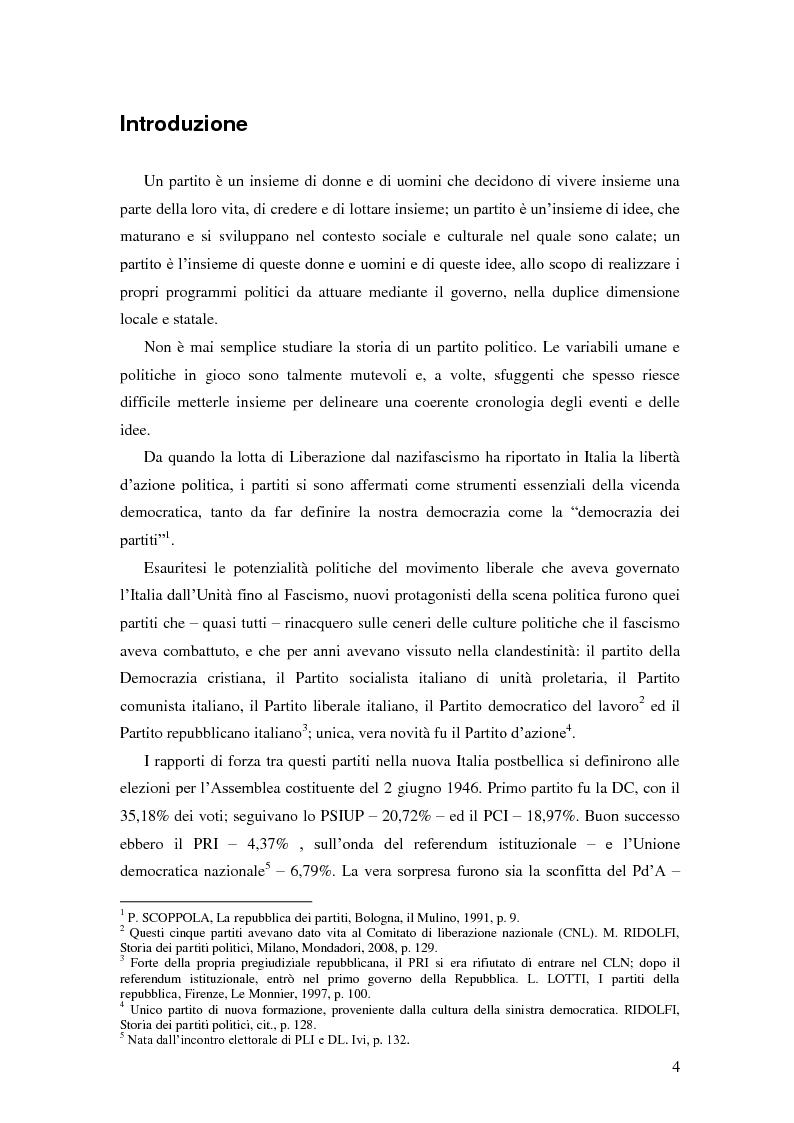 Anteprima della tesi: Dal PCI al PDS. Il caso pavese, Pagina 2