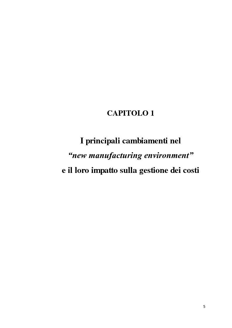 Anteprima della tesi: Il Design to Cost come strumento di supporto alla progettazione, Pagina 3