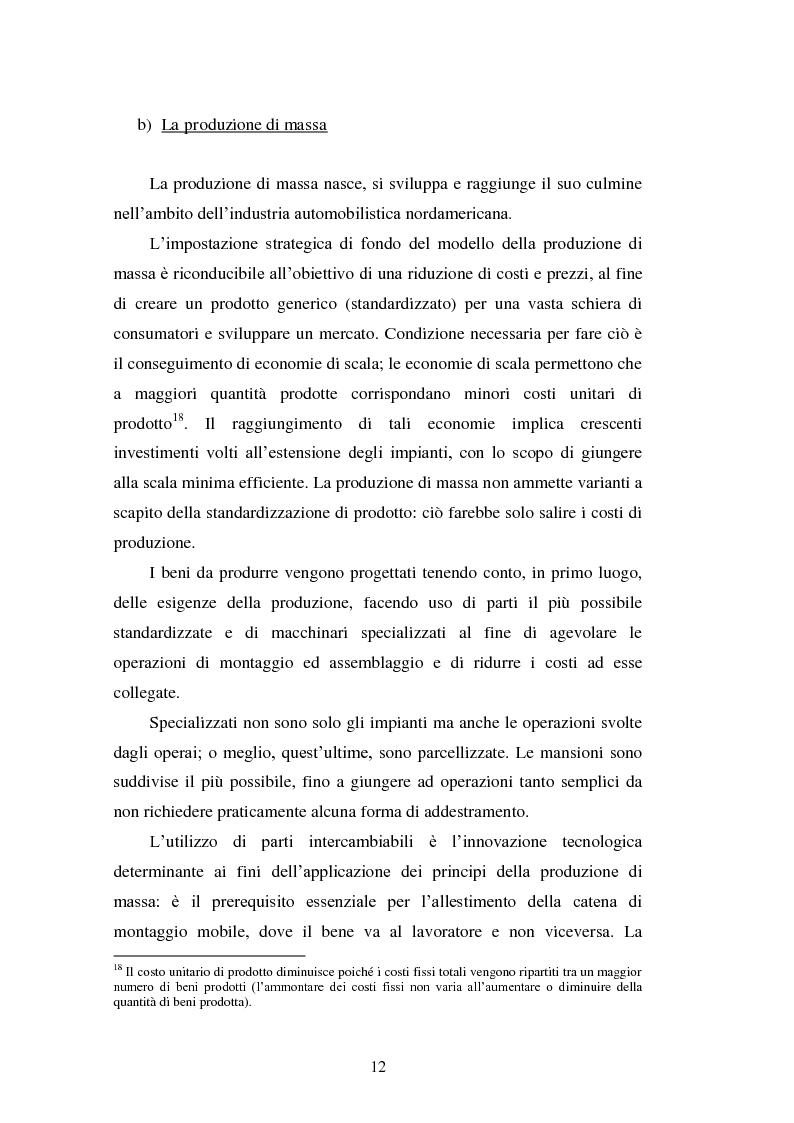 Anteprima della tesi: Le strategie di internazionalizzazione nel settore della componentistica auto: il caso Brembo, Pagina 12