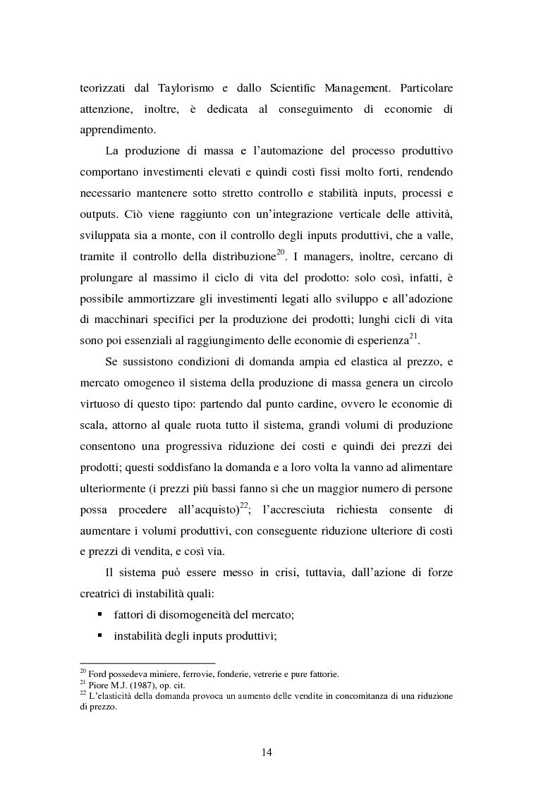 Anteprima della tesi: Le strategie di internazionalizzazione nel settore della componentistica auto: il caso Brembo, Pagina 14