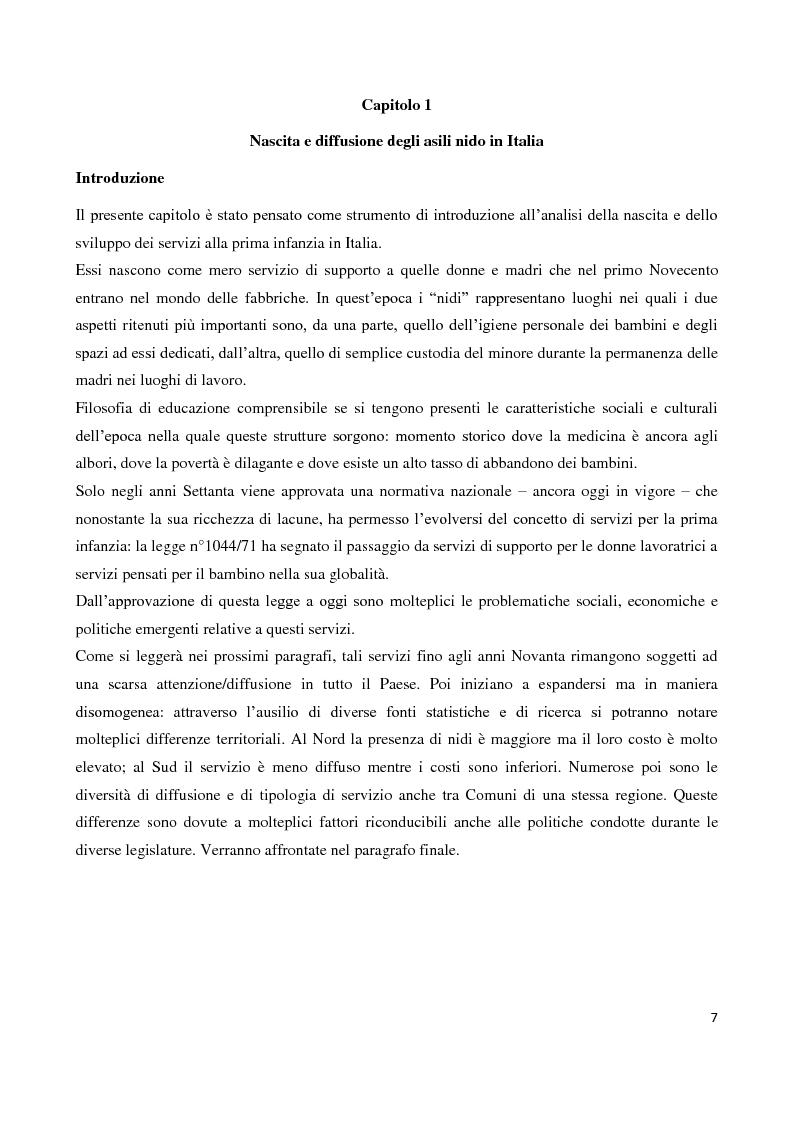 Anteprima della tesi: Servizi socioeducativi in Lombardia, Pagina 2