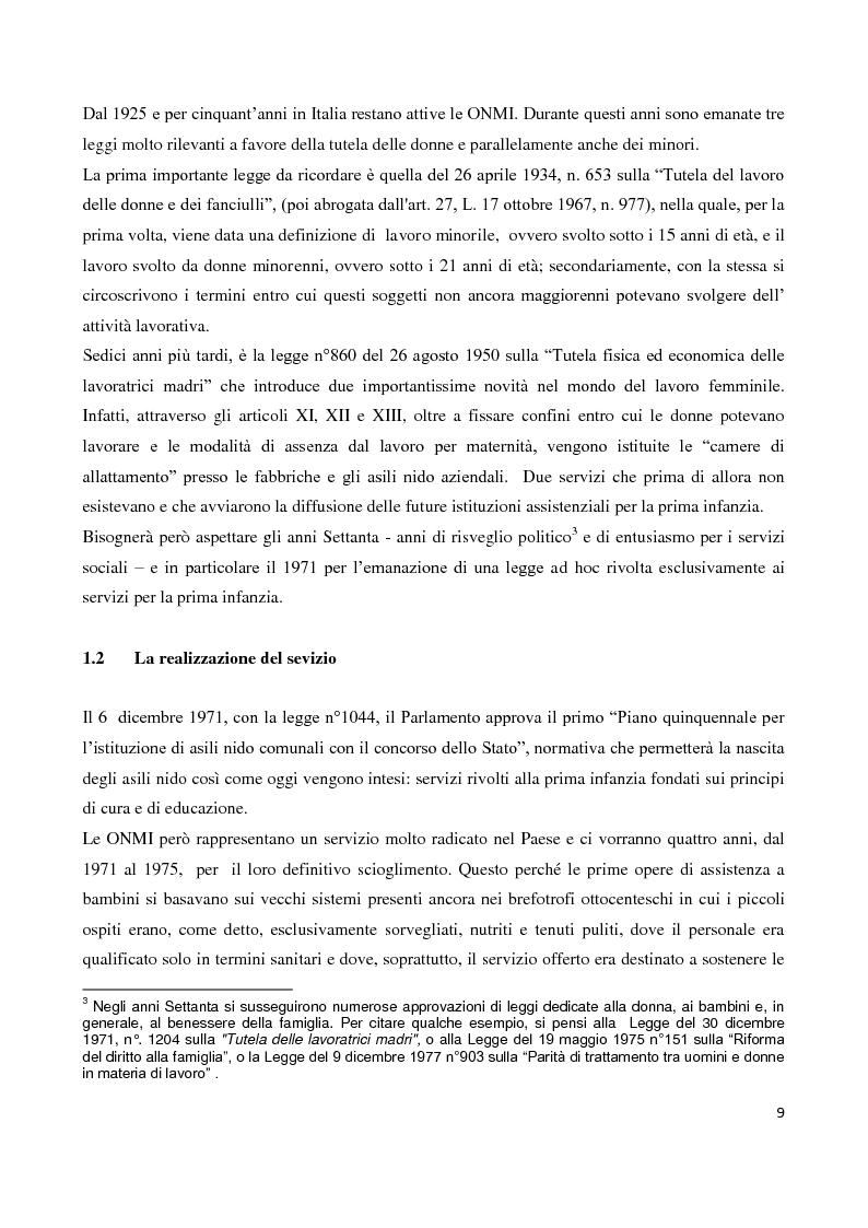 Anteprima della tesi: Servizi socioeducativi in Lombardia, Pagina 4