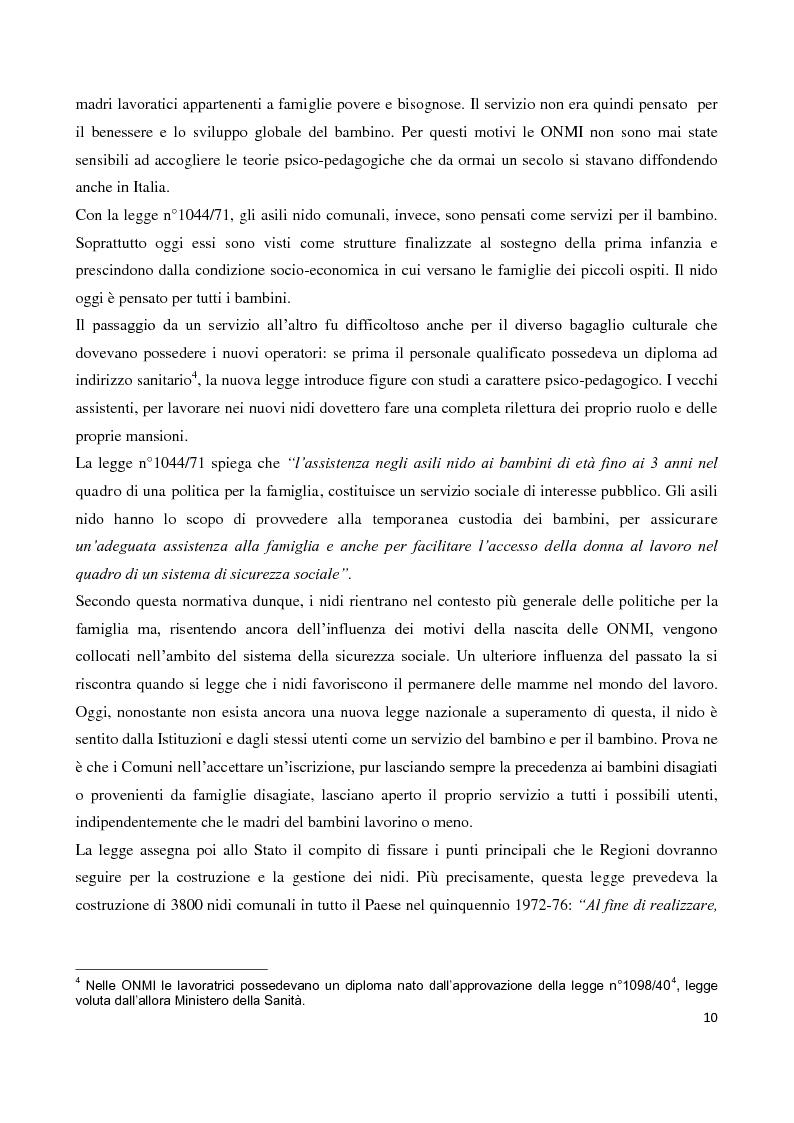 Anteprima della tesi: Servizi socioeducativi in Lombardia, Pagina 5