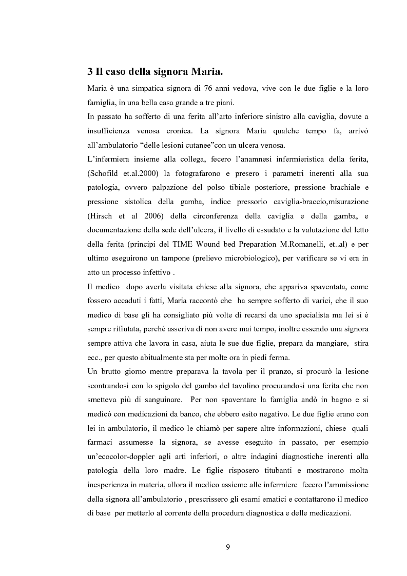 Anteprima della tesi: Elaborazione di una guida informativa illustrata a fumetti per educare le persone a prevenire le recidivedelle ulcere venose agli arti inferiori, Pagina 4