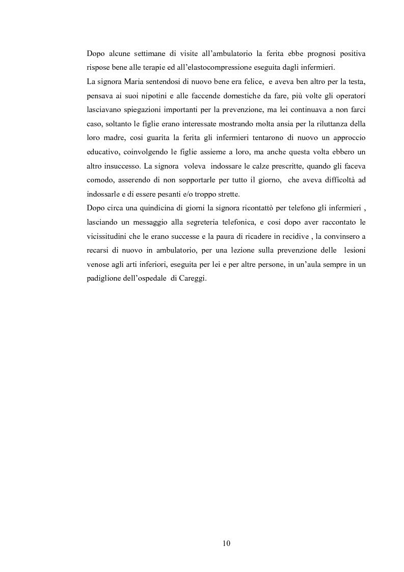 Anteprima della tesi: Elaborazione di una guida informativa illustrata a fumetti per educare le persone a prevenire le recidivedelle ulcere venose agli arti inferiori, Pagina 5