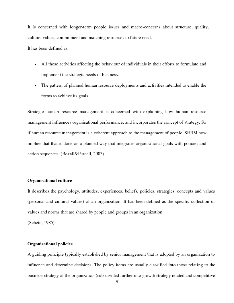Anteprima della tesi: An Exploration of the Connection between Human Resource Management and Organizational Culture to Enable Business Success and Growth in the UK Magazine Publishing Industry - A Case Study of Future Plc, Pagina 4