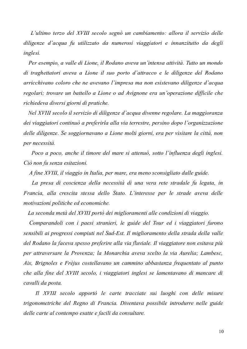 Anteprima della tesi: Dal Grand Tour al turismo alternativo: le nuove frontiere del viaggio, Pagina 8