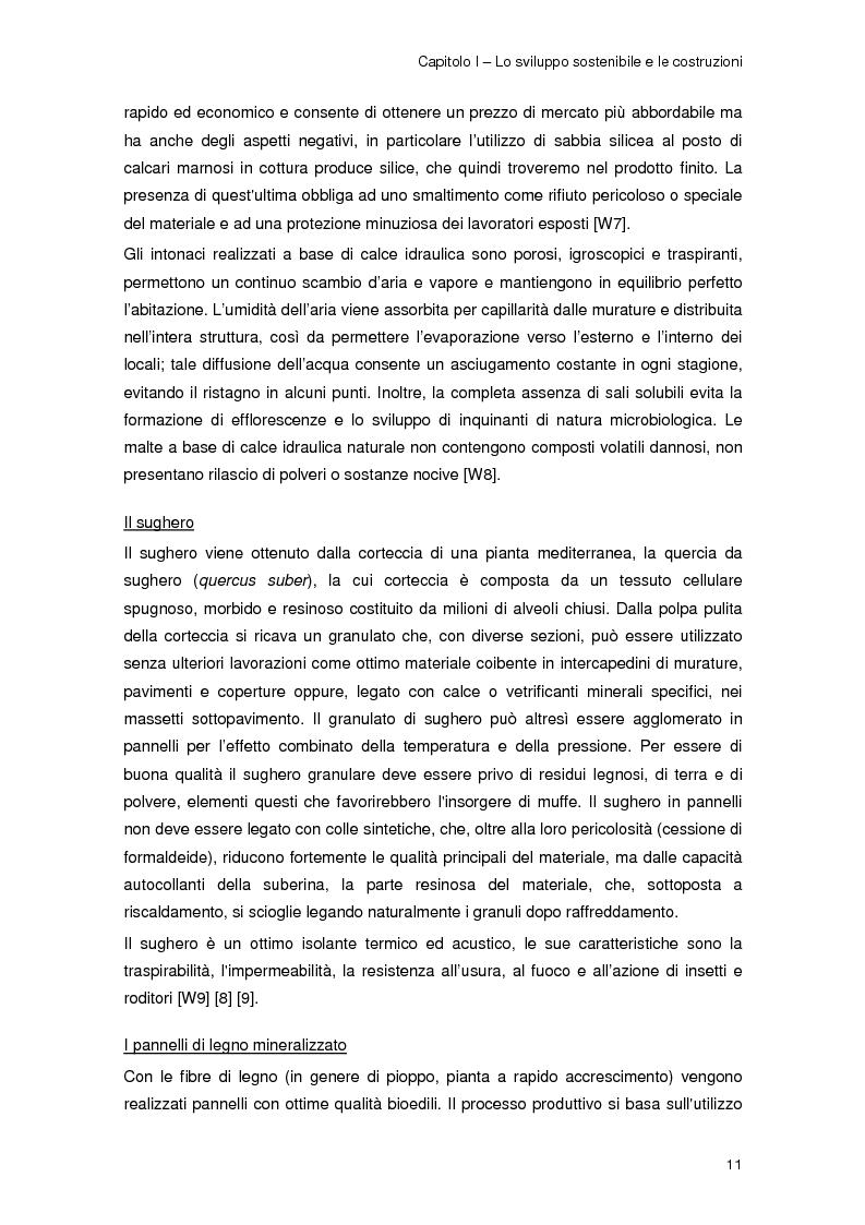 Anteprima della tesi: Risparmio energetico nell'edilizia residenziale: materiali e tecnologie, Pagina 10