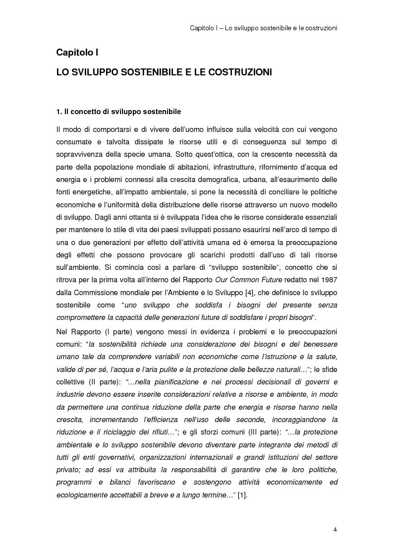 Anteprima della tesi: Risparmio energetico nell'edilizia residenziale: materiali e tecnologie, Pagina 3