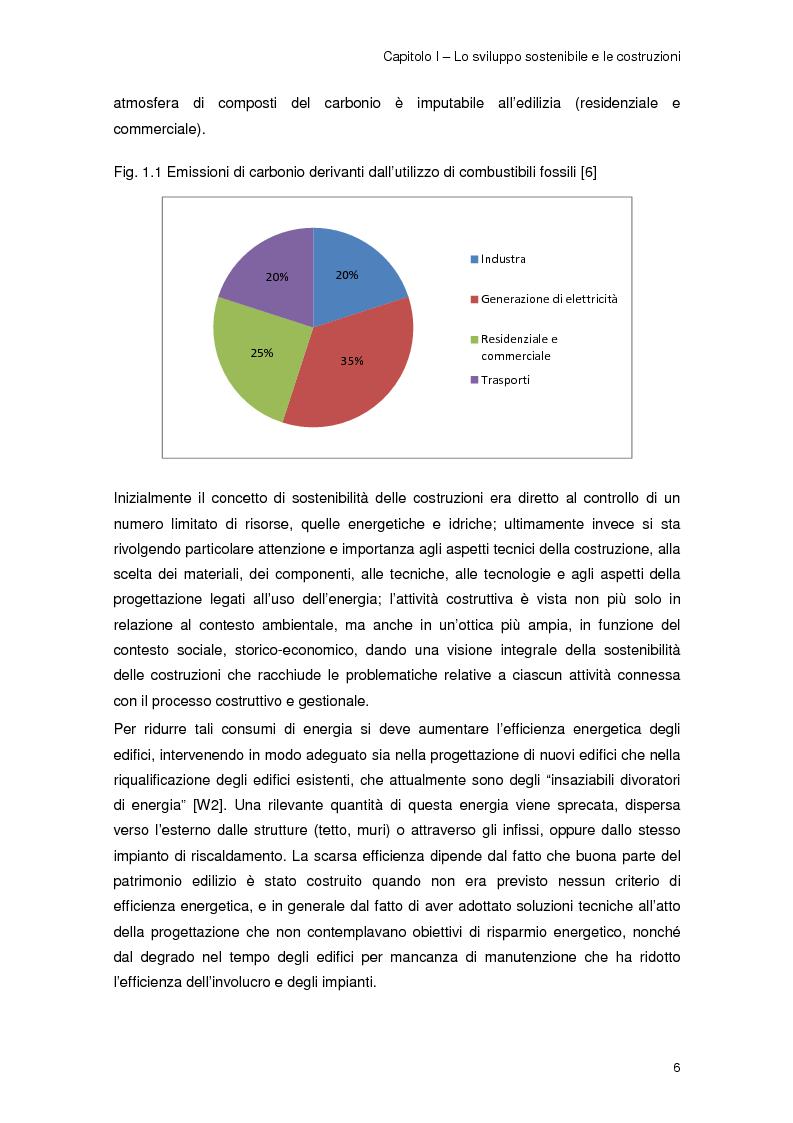 Anteprima della tesi: Risparmio energetico nell'edilizia residenziale: materiali e tecnologie, Pagina 5