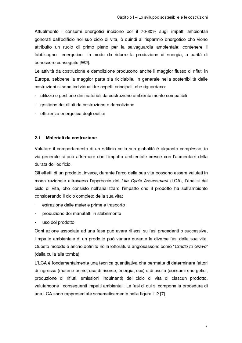 Anteprima della tesi: Risparmio energetico nell'edilizia residenziale: materiali e tecnologie, Pagina 6