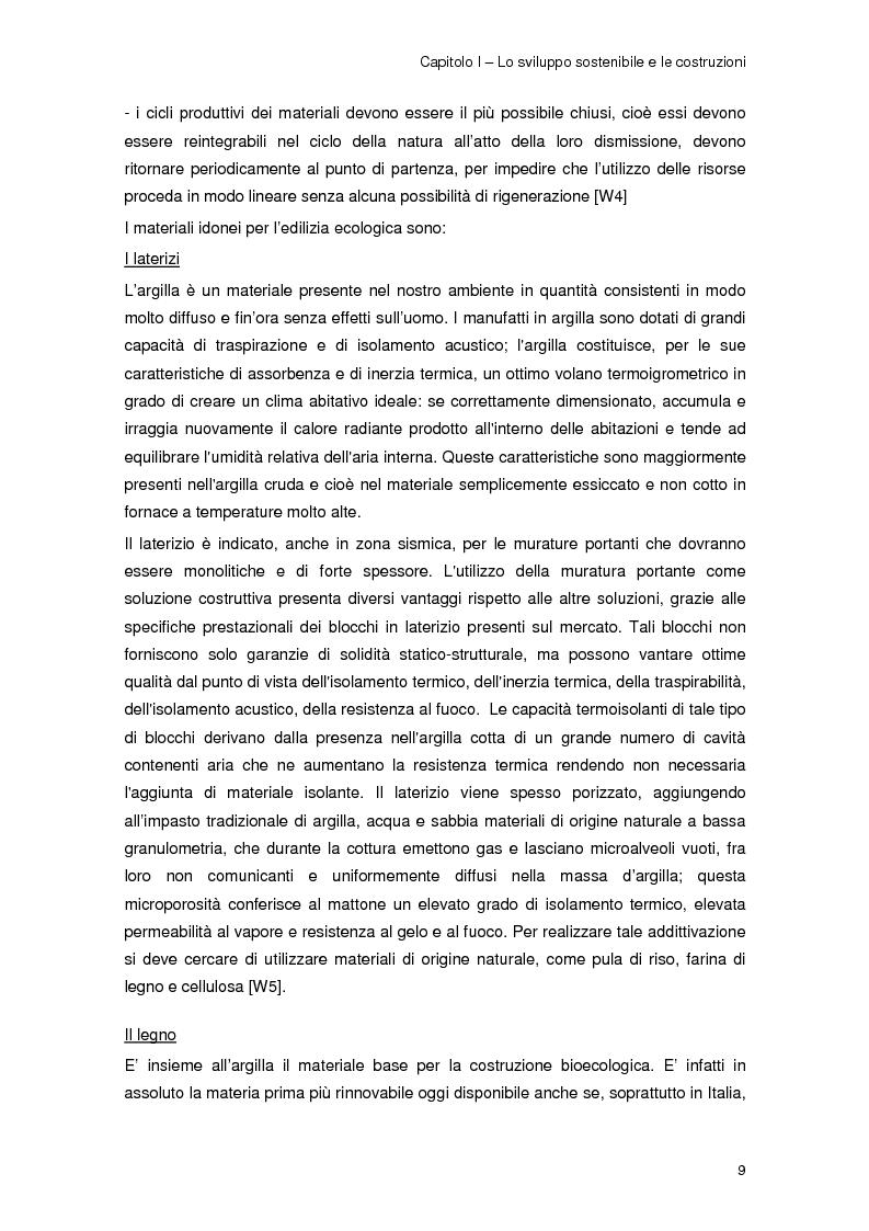 Anteprima della tesi: Risparmio energetico nell'edilizia residenziale: materiali e tecnologie, Pagina 8