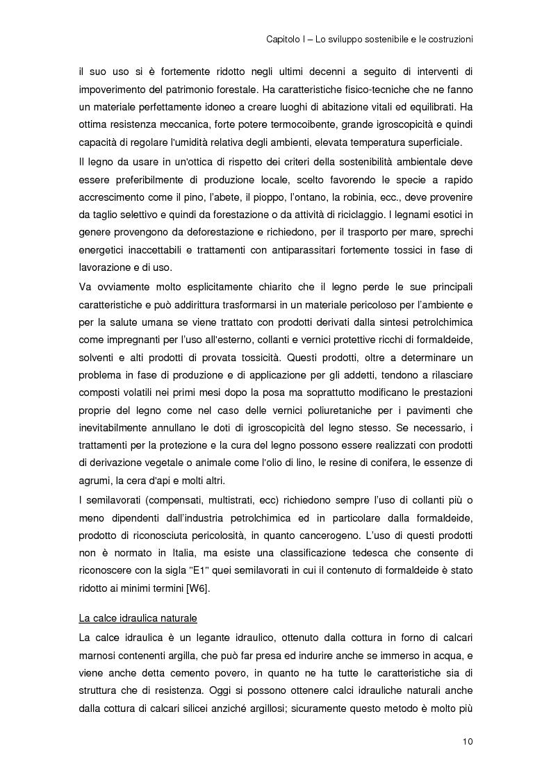 Anteprima della tesi: Risparmio energetico nell'edilizia residenziale: materiali e tecnologie, Pagina 9