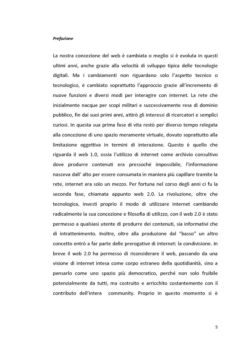 Anteprima della tesi: Web 3.0 Internet of services: uno stato dell'arte, Pagina 1