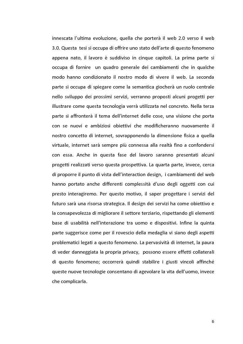 Anteprima della tesi: Web 3.0 Internet of services: uno stato dell'arte, Pagina 2