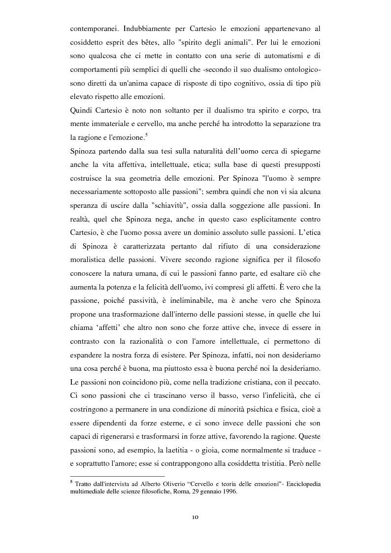 Anteprima della tesi: Emozioni e comunicazione: le espressioni del volto, Pagina 4