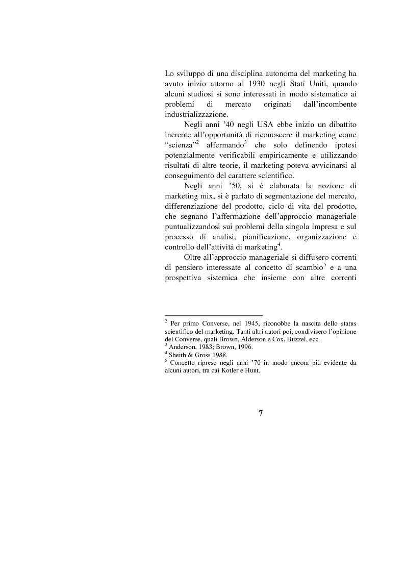 Anteprima della tesi: Il marketing interno nelle aziende di servizi: il caso Banca Intesa-Sanpaolo, Pagina 5