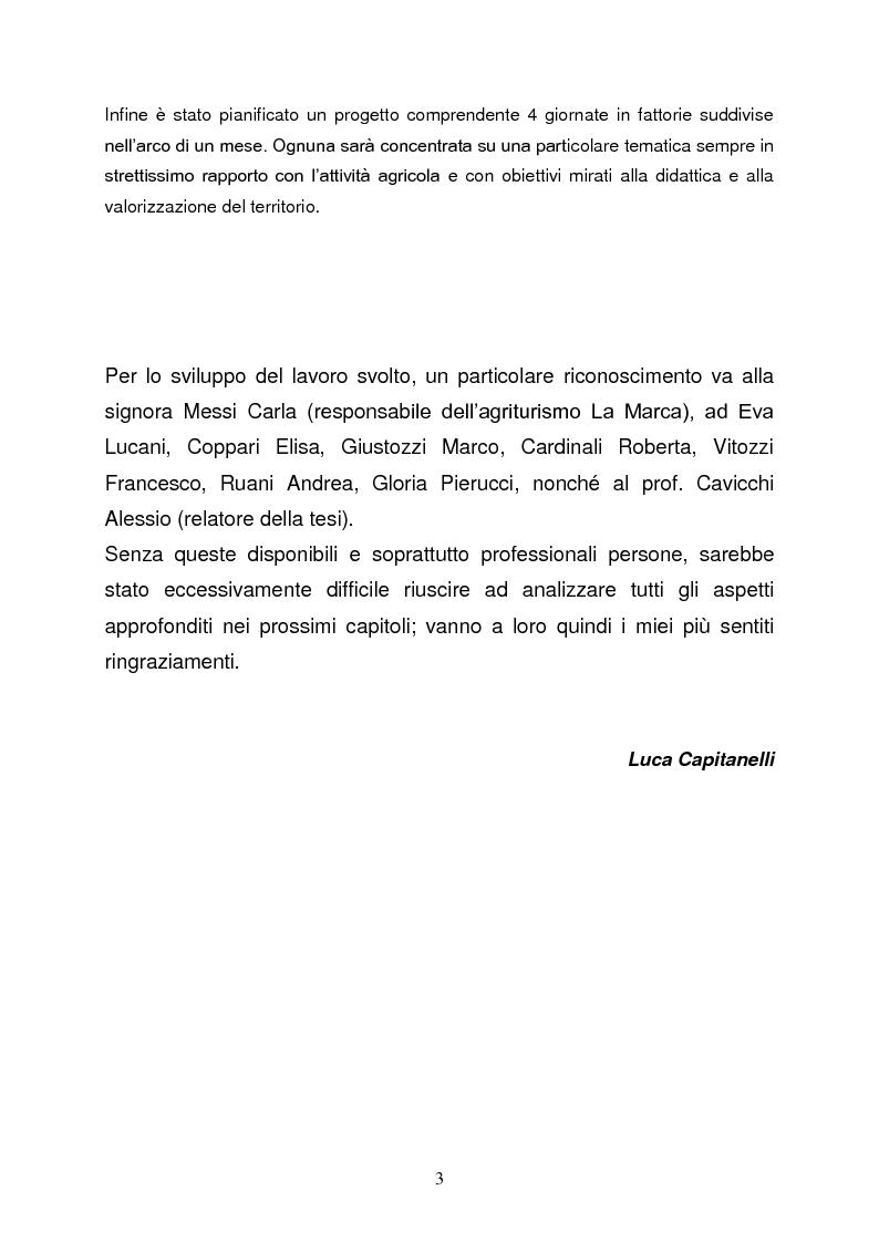 Anteprima della tesi: Le fattorie didattiche, Pagina 2