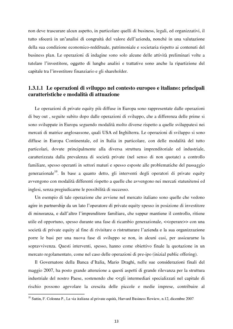 Anteprima della tesi: Il Private Equity nelle imprese in crisi: il caso Ferretti, Pagina 11