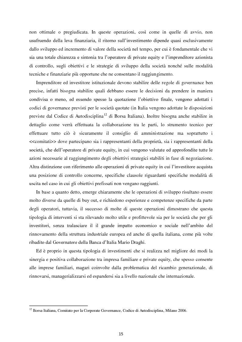 Anteprima della tesi: Il Private Equity nelle imprese in crisi: il caso Ferretti, Pagina 13
