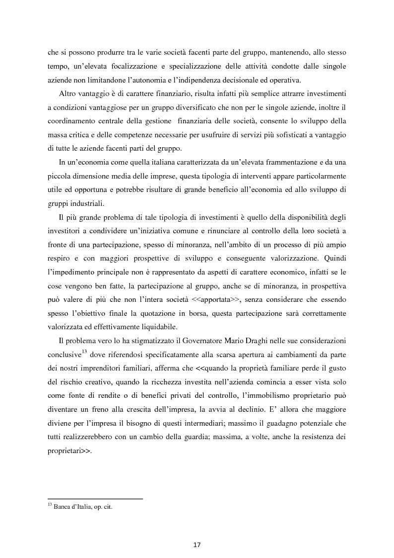 Anteprima della tesi: Il Private Equity nelle imprese in crisi: il caso Ferretti, Pagina 15