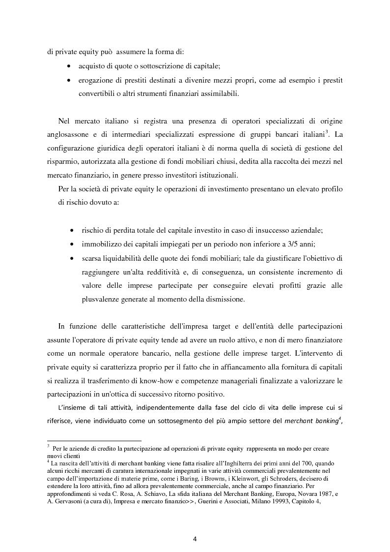 Anteprima della tesi: Il Private Equity nelle imprese in crisi: il caso Ferretti, Pagina 2