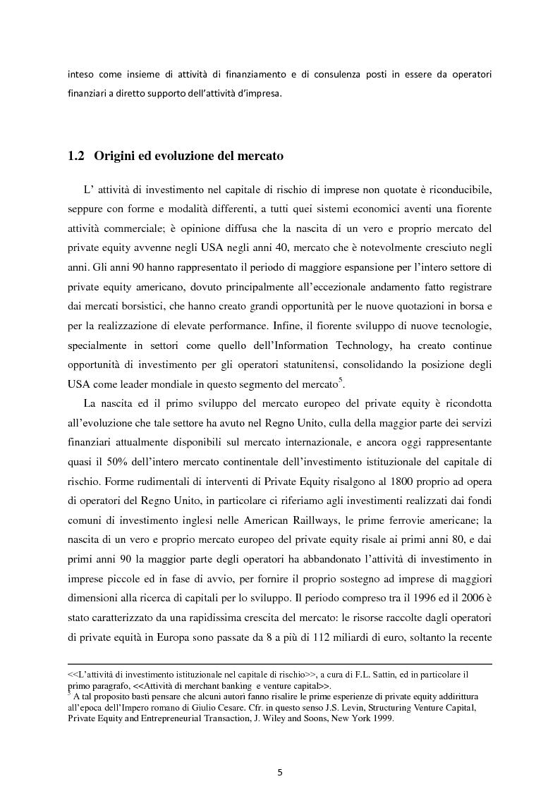 Anteprima della tesi: Il Private Equity nelle imprese in crisi: il caso Ferretti, Pagina 3