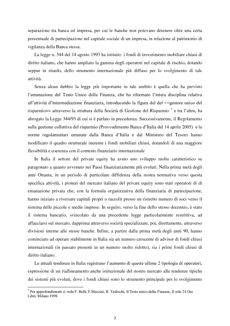 Anteprima della tesi: Il Private Equity nelle imprese in crisi: il caso Ferretti, Pagina 5