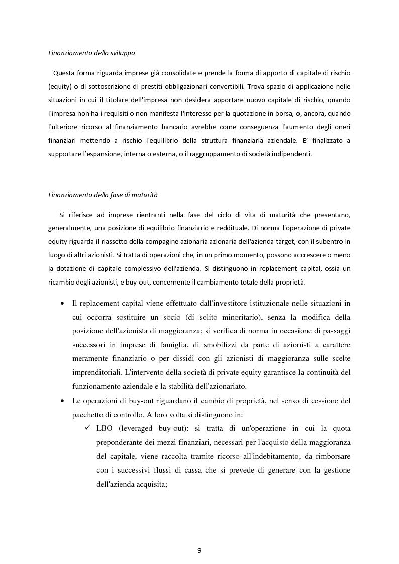 Anteprima della tesi: Il Private Equity nelle imprese in crisi: il caso Ferretti, Pagina 7