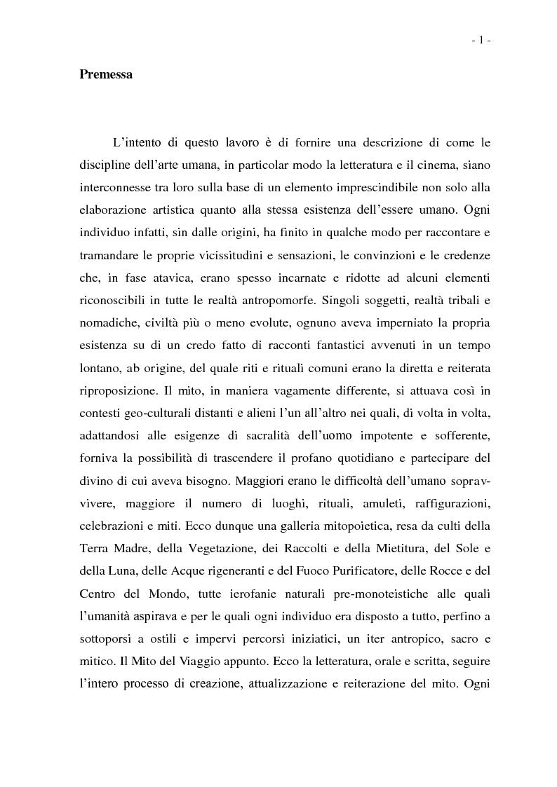 Anteprima della tesi: Joseph Conrad e il Mito del Viaggio. Nostromo e Heart of Darkness tra letteratura e cinema, Pagina 1