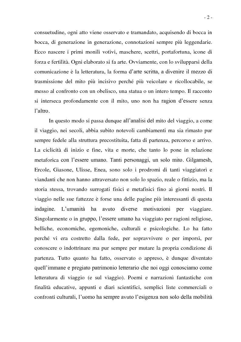 Anteprima della tesi: Joseph Conrad e il Mito del Viaggio. Nostromo e Heart of Darkness tra letteratura e cinema, Pagina 2