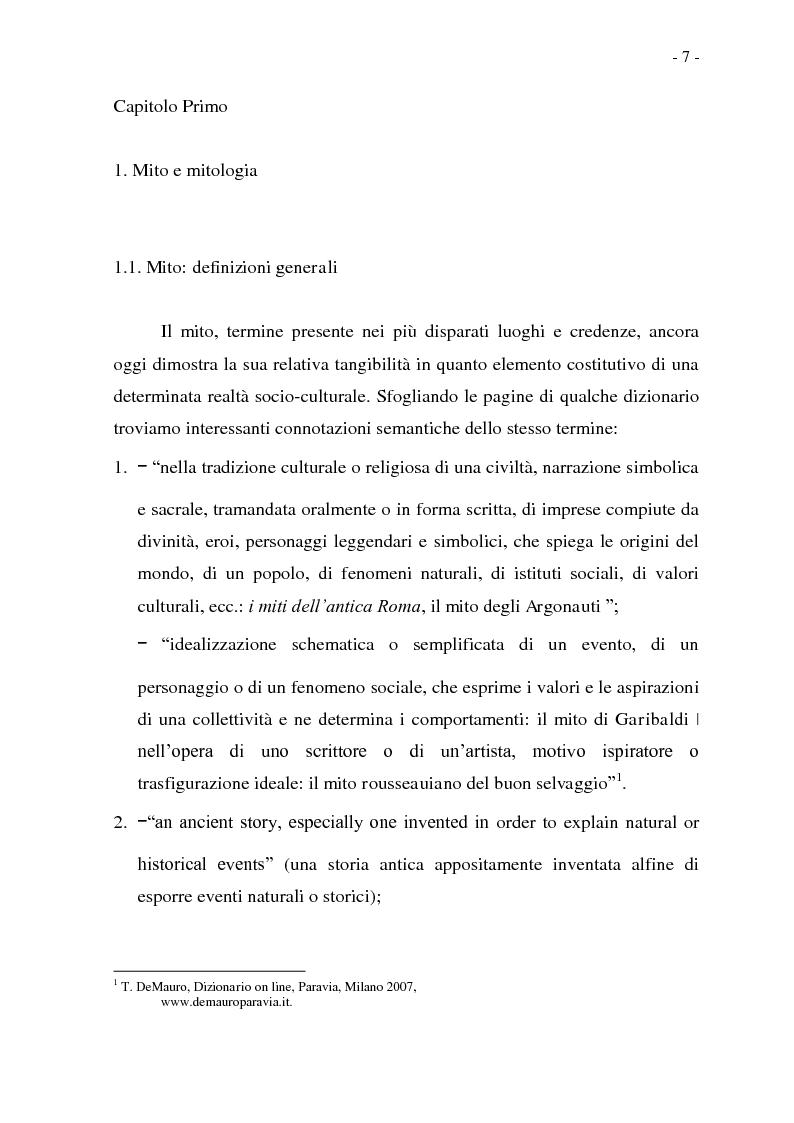 Anteprima della tesi: Joseph Conrad e il Mito del Viaggio. Nostromo e Heart of Darkness tra letteratura e cinema, Pagina 7