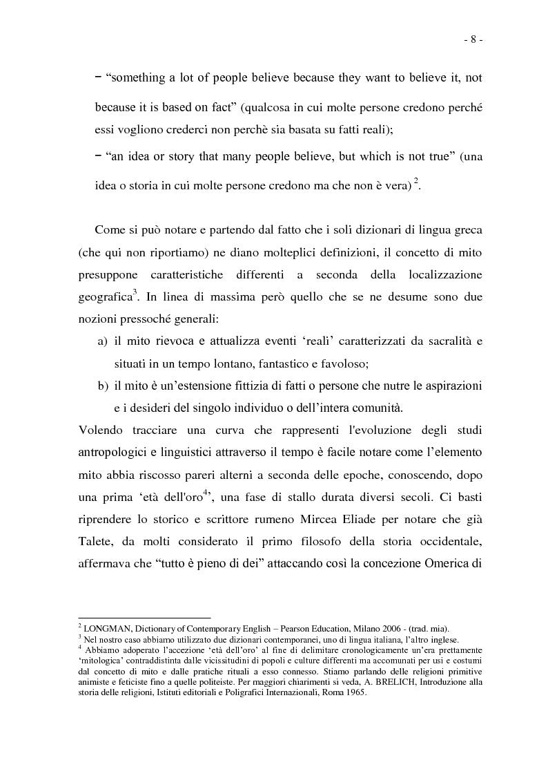 Anteprima della tesi: Joseph Conrad e il Mito del Viaggio. Nostromo e Heart of Darkness tra letteratura e cinema, Pagina 8