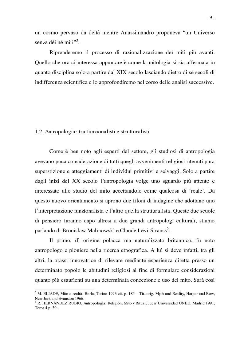 Anteprima della tesi: Joseph Conrad e il Mito del Viaggio. Nostromo e Heart of Darkness tra letteratura e cinema, Pagina 9