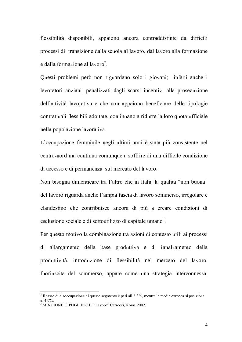 Anteprima della tesi: L'apprendistato nella legislazione nazionale e regionale, Pagina 3