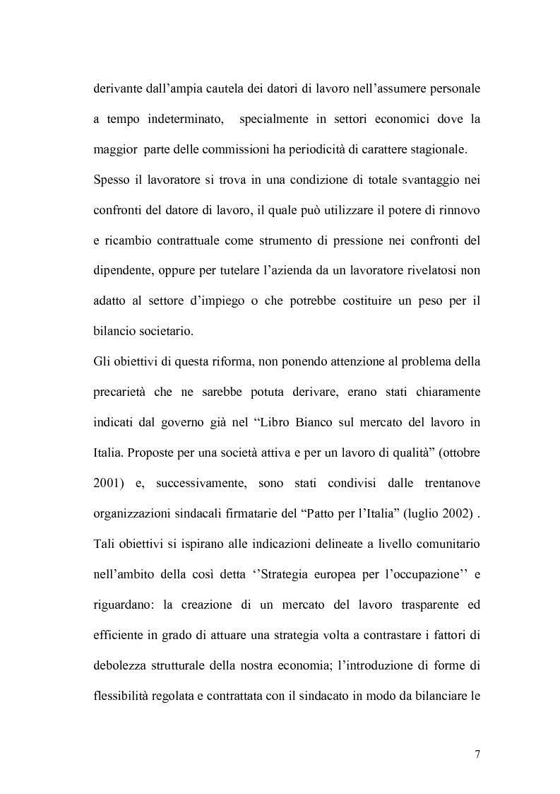 Anteprima della tesi: L'apprendistato nella legislazione nazionale e regionale, Pagina 6