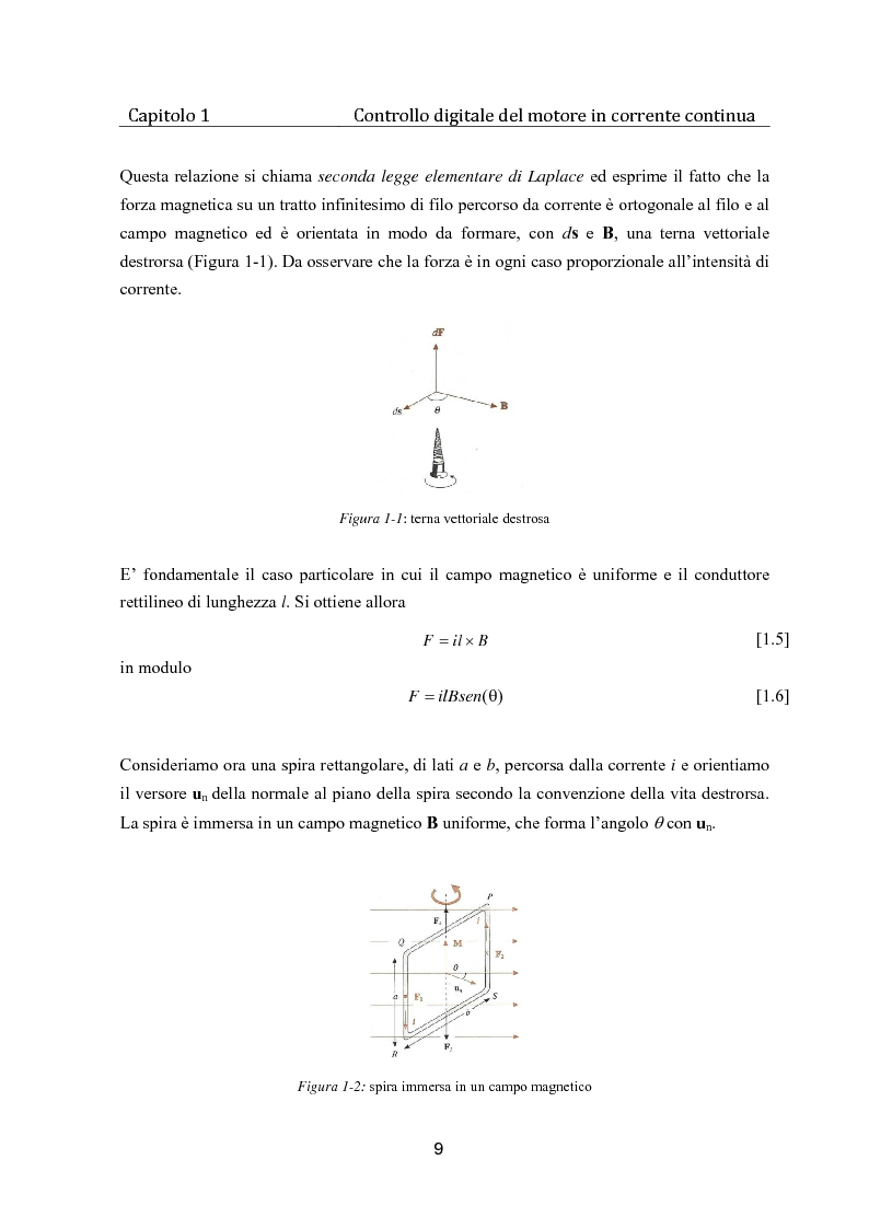 Anteprima della tesi: Controllo digitale di un banco freno per la caratterizzazione di motori elettrici, Pagina 4