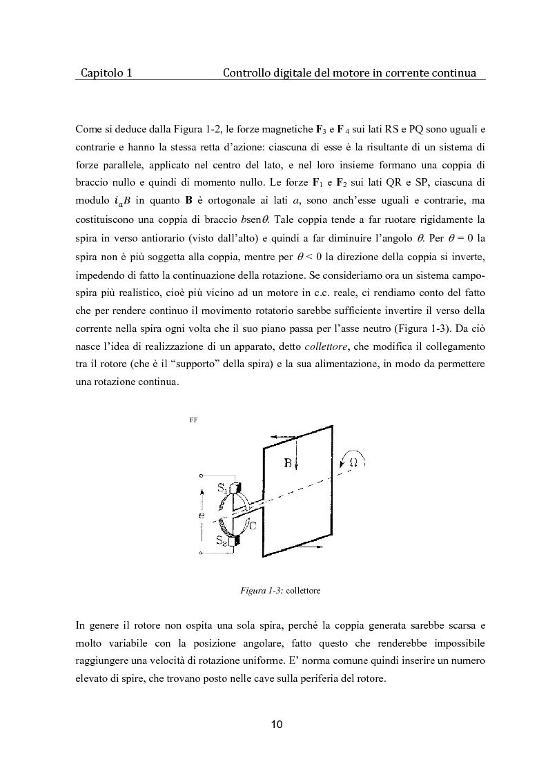 Anteprima della tesi: Controllo digitale di un banco freno per la caratterizzazione di motori elettrici, Pagina 5